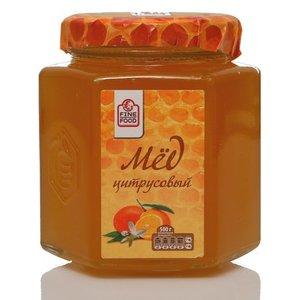 Мед натуральный цветочный цитрусовый ТМ Fine Food (Файн Фуд)