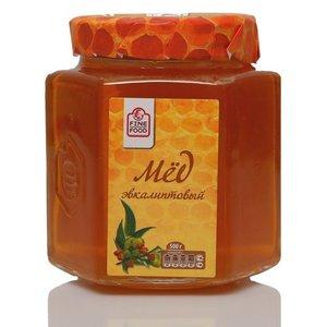 Мед натуральный цветочный эвкалиптовый ТМ Fine Food (Файн Фуд)
