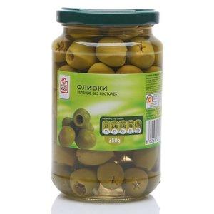 Оливки зеленые без косточек ТМ Fine Food (Файн Фуд)