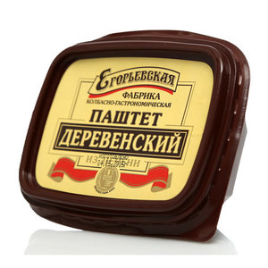 Паштет Деревенский из печени ТМ Егорьевская