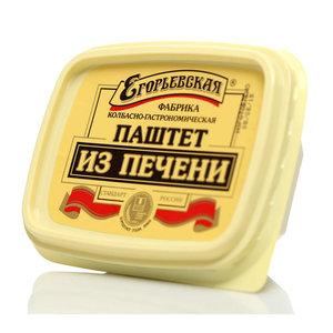 Паштет из печени классический ТМ Егорьевская