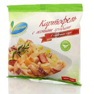 Картофель с лесными грибами в сливочном соусе Vитамин (Витамин) ТМ Мираторг