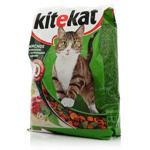 Корм для кошек Мясное изобилие с полезными травами ТМ Kitekat (Китекат)