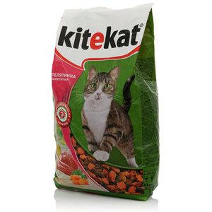 Корм для кошек Телятинка аппетитная ТМ Kitekat (Китекат)