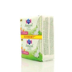 Прокладки женские гигиенические Libresse Natural Care Maxi (Либресс нейчерал Кеар) (7 мм) с экстрактами алоэ вера и ромашки ТМ Libresse (Либресс) 20 шт