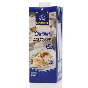 Сливки для соусов стерилизованные 23% ТМ Horeca Select (Хорека Селект)