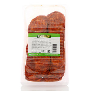 Продукт из свинины сырокопченый Колбаса для пиццы острая ТМ Златиборац