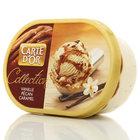 Мороженое ванильное Carte d'Or (Карте д'Ор) ТМ Инмарко с карамельным соусом и карамелизированным пеканом