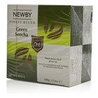 Чай зеленый байховый в пакетиках Green Sencha (Грин Сенча) ТМ Newby (Ньюби)