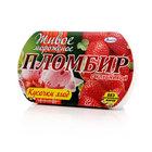 Пломбир с клубникой Живое мороженое ТМ Талосто