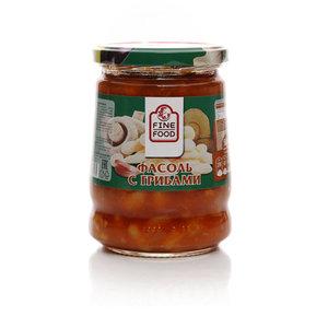 Фасоль с грибами ТМ Fine Food (Файн Фуд)