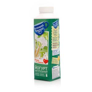 Йогурт с печеным яблоком и злаками 2,0% ТМ Большая Кружка