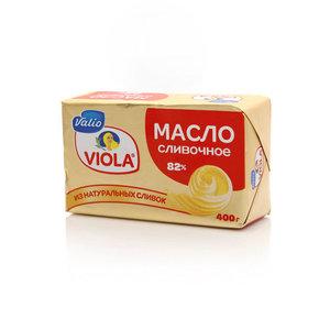 Масло сливочное 82% Viola (Виола) ТМ Valio (Валио)