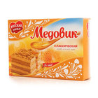 Торт песочный Медовик классический ТМ Русская нива
