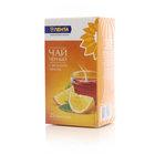 Чай черный с ароматом лимона 25*2г ТМ Лента