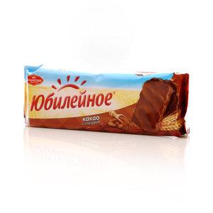 Печенье с какао в шоколаде юбилейное ТМ Большевик