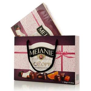 Набор шоколадных конфет с начинкой Ассорти ТМ Melanie (Мелани)