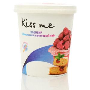 Мороженое пломбир Итальянский малиновый пай ТМ Kiss Me (Кисс Ми)