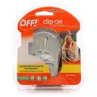 Защита от комаров сменный картридж + прибор на батарейках с фен-системой Clip-on ТМ ТМ Off! (Офф!)