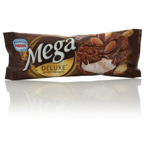 Мороженое десерт-миндаль Mega Deluxe (Мега Делюкс) ТМ Nestle (Нестле)
