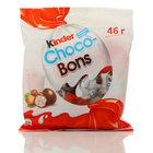 Конфеты из молочного шоколада с молочно-ореховой начинкой Kinder Choco-boy ТМ Kinder (Киндер)
