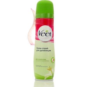 Крем-спрей для депиляции для сухой кожи ТМ Veet (Вит)