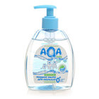 Жидкое мыло для малыша с персиковым маслом и провитамином В5 ТМ Aqa baby (Аква беби)