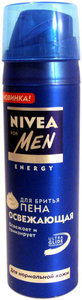 Пена для бритья освежающая для нормальной кожи ТМ Nivea Men (Нивея Мен)