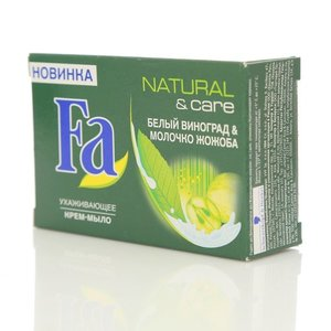 Крем-мыло natural & care белый виноград & молочко жожоба ТМ Fa (Фа)