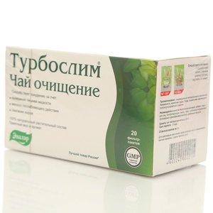 Чай очищение 20*2г ТМ Турбослим