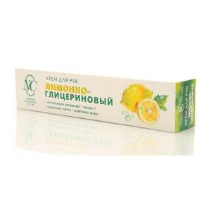 Крем для рук Лимонно-Глицериновый ТМ Невская косметика