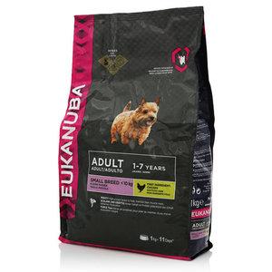 100% полноценное и сбалансированное питание для взрослых собак мелких пород ТМ Eukanuba (Эукануба)