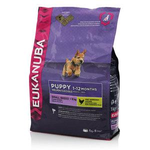 100% полноценный и сбалансированный корм для щенков мелких пород ТМ Eukanuba (Эукануба)