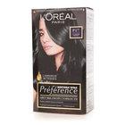 """Стойкая краска для волос """"Preference"""" Р17 глубокий черный L'Oreal Paris (Л'ореаль Париж)"""