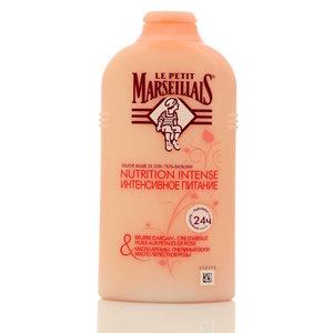Гель-бальзам для душа интенсивное питание Масло арганы, пчелиный воск и масло лепестков розы ТМ Le Petit Marseillais (Ле Пети Марселье)