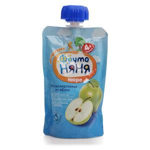 Пюре из яблок для питания детей с 4-х месяцев ТМ ФрутоНяня