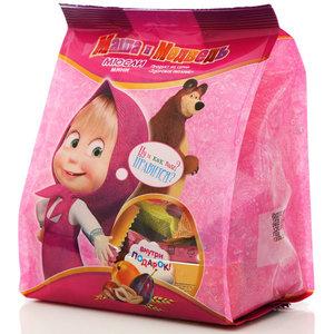 Конфеты мини-мюсли с сухофруктами с игрушкой ТМ Маша и медведь
