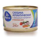 Сардина в томатном соусе ТМ Фрегат