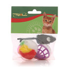 Мышка с игрушкой игрушка для кошек ТМ Triol (Триол)