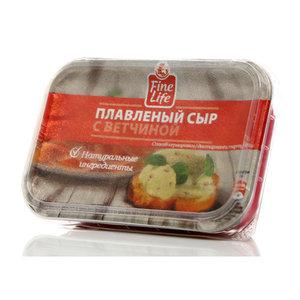 Сыр плавленый с ветчиной ТМ Fine Life (Файн Лайф) 50%