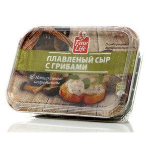 Сыр плавленый с грибамиТМ Fine Life (Файн Лайф) 50%