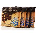 Шоколад темный Uganda (Уганда) с целым карамелизованным фундуком 4*90г ТМ Бабаевский