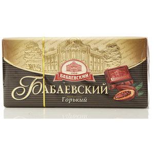 Шоколад Бабаевский горький