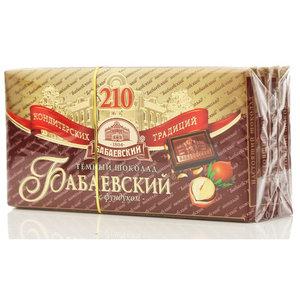 Темный шоколад с фундуком 4*100г ТМ Бабаевский