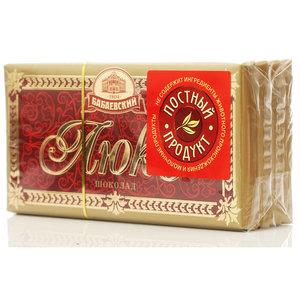 Шоколад темный Люкс 4*100г ТМ Бабаевский