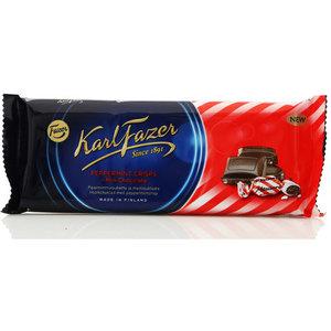 Шоколад молочный с перечной мятой ТМ KarlFazer (КарлФазер)