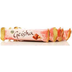 Шоколад молочный Geisha с начинкой из тертого ореха 5*37г ТМ Fazer (Фазер)