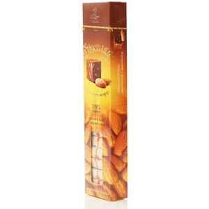 Шоколад в кубиках O'Zera (О'Зера) молочный с миндалем