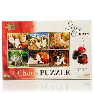 Набор Choco Puzzle - Love & Cherry (Чоко Пазл - Лав энд Чери) ТМ Vobro (Вобро)