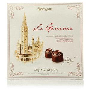 Конфеты из молочного шоколада с ореховым кремом и злаками ТМ Vergani (Вергани)